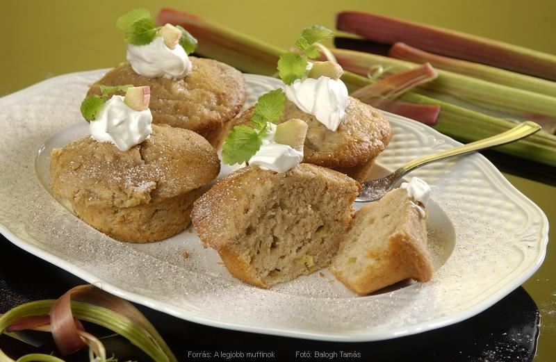 Rebarbarás muffin