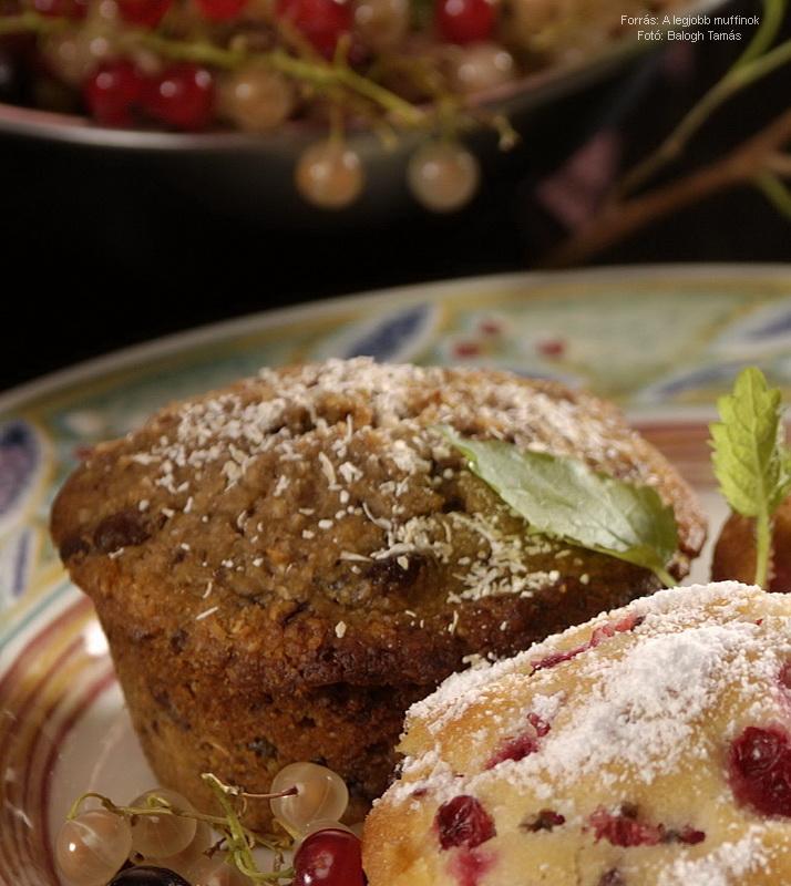 Reformos, zabkorpás muffin