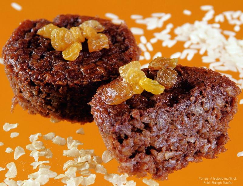 Reformos, lisztmentes muffin