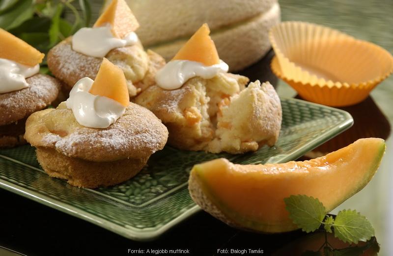Sárgadinnyés muffin