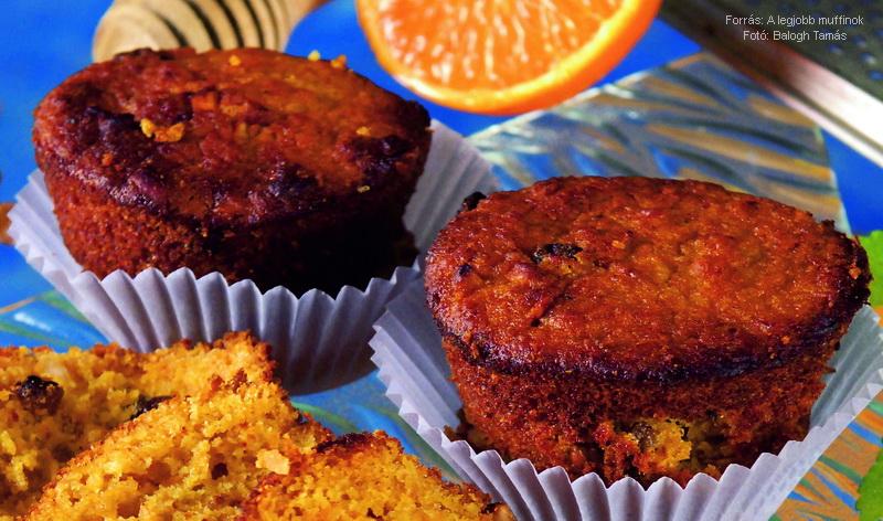 Sütőtökös, diós muffin