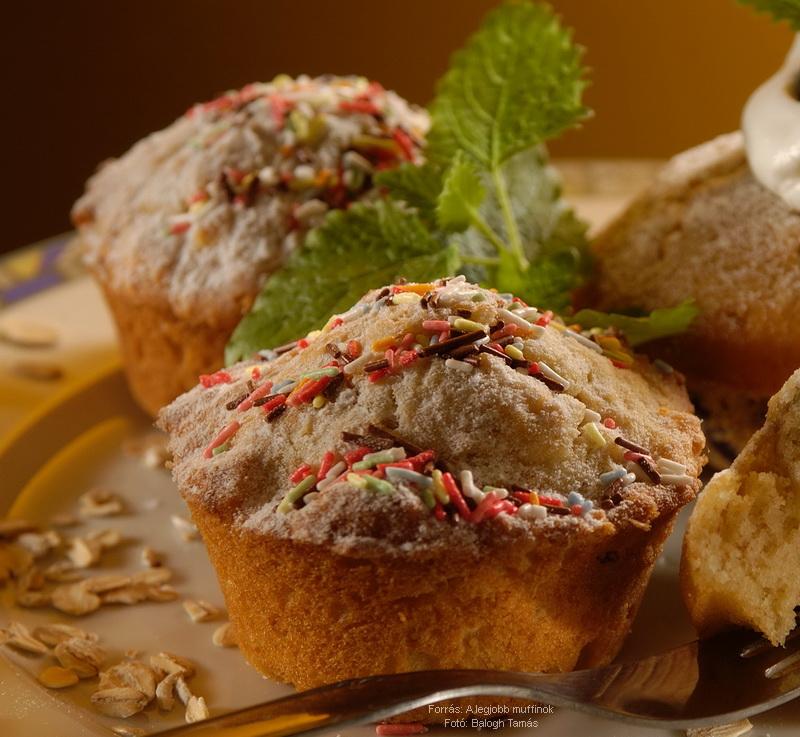 Zabpelyhes, burgonyás muffin