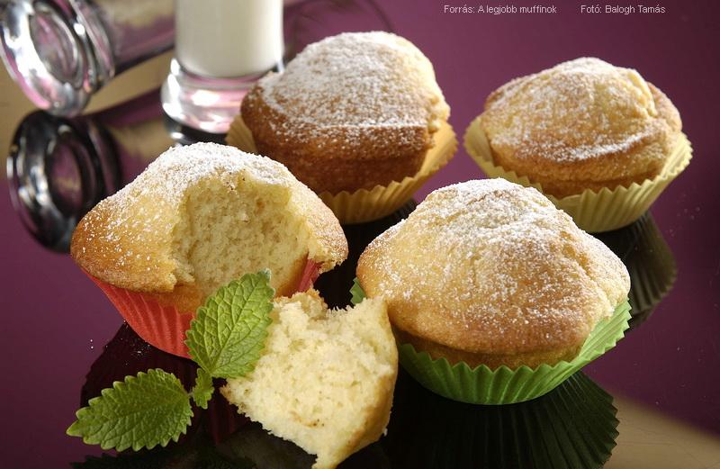 Édes muffin alaprecept I.