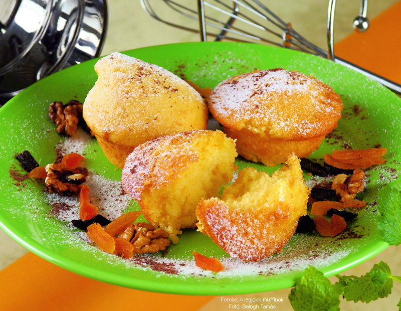 Édes muffin alaprecept II.