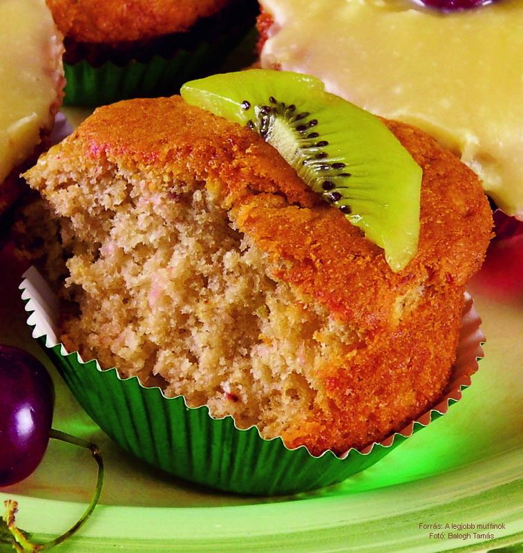 Epres, kivis muffin