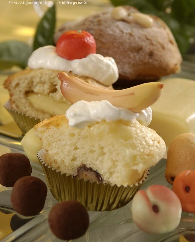 Marcipános muffin háromféleképp