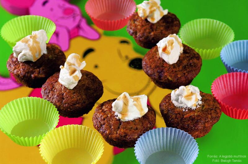 Micimackó muffin