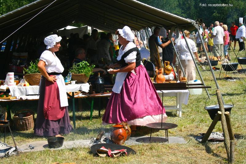 Barokk Ételfőző Fesztivál Fertődön