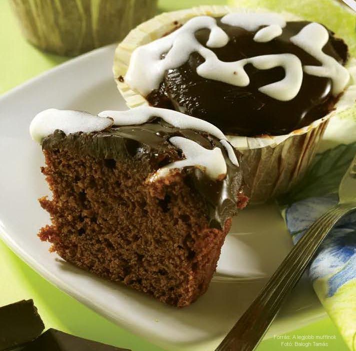 Sacher-muffin