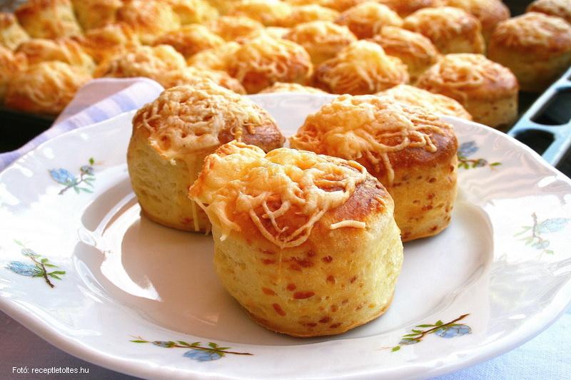 Pillekönnyű sajtospogácsa