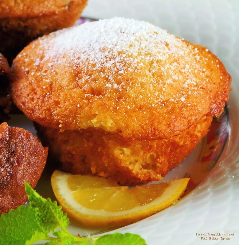 Citromos, joghurtos muffin