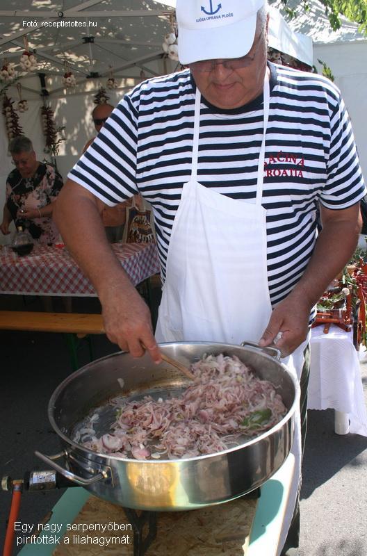 Neretvai brudet (tengeri halászlé)