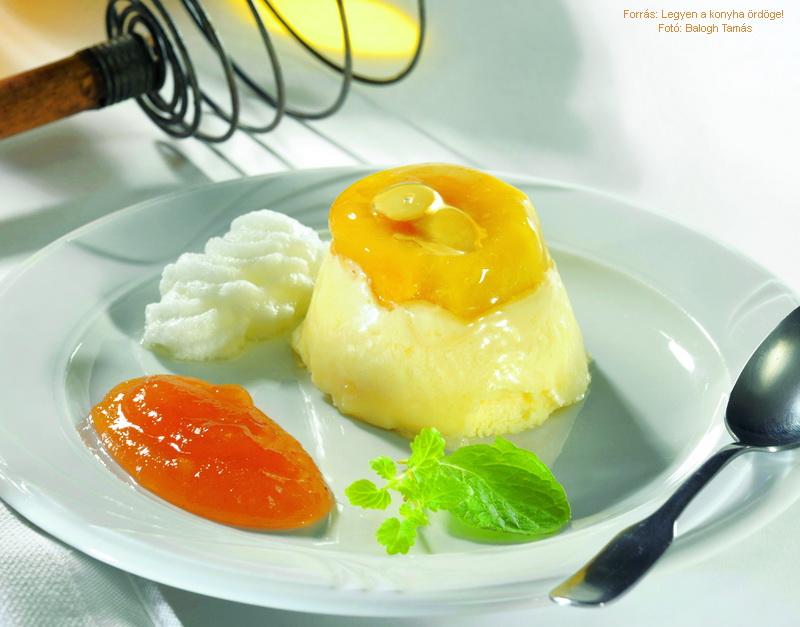 Kecskemét Apricot Pudding (Kecskeméti barackpuding)