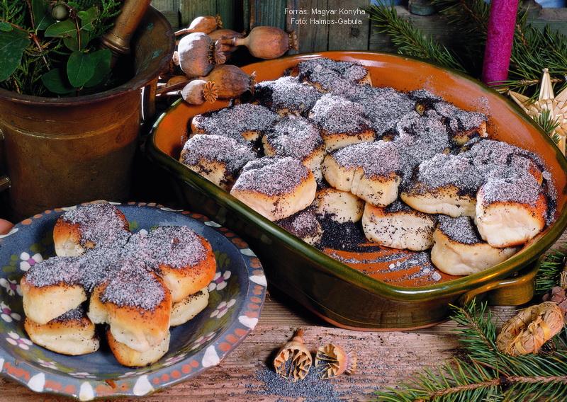 Mákos guba (házi gubarúdból)