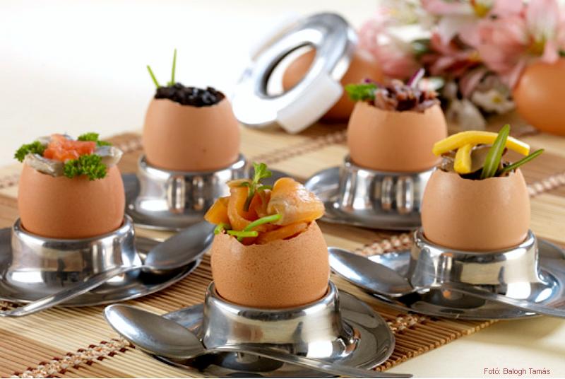 Ízesített lágy tojás