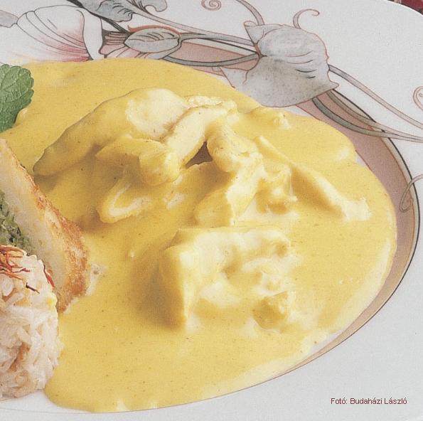 Currymártás (meleg)