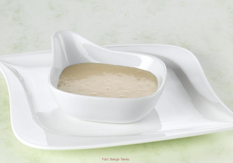 Fehérmártás - velouté mártás (meleg)