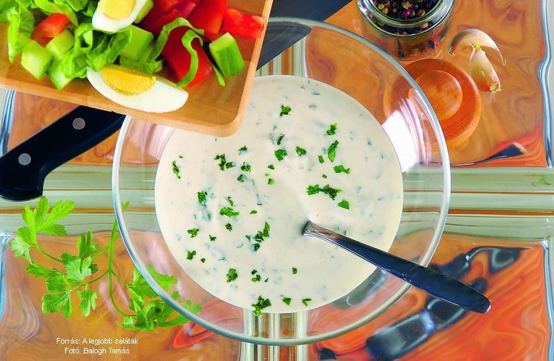 Joghurtos öntet (hideg)