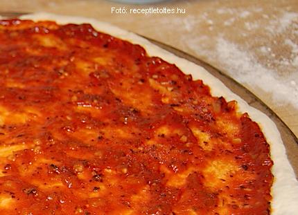 Pizzamártás - pizzaszósz (meleg)