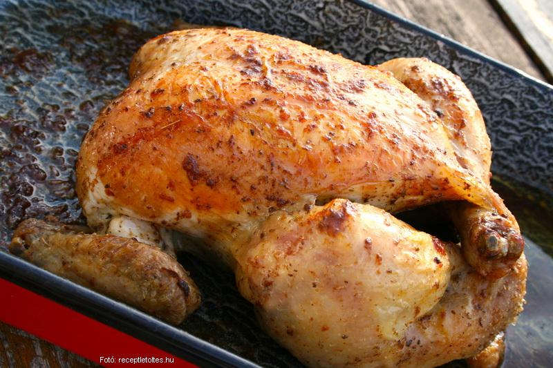 Egészben sült csirke (grillcsirke)