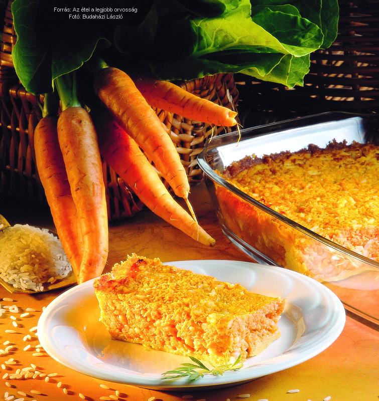 Rizses sárgarépafelfújt