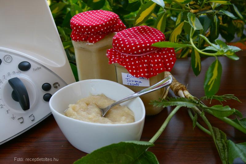 Házi ecetes torma - Thermomix recept