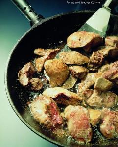 Fűszeres csirkemájpástétom 2