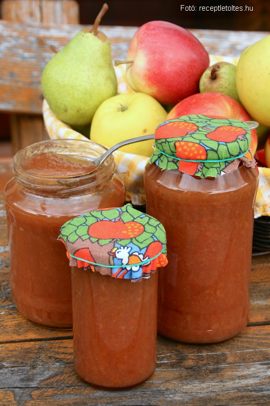 Almás körtelekvár