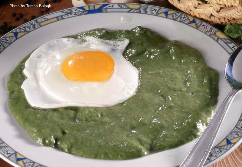 Crema di spinaci - (parajfőzelék)