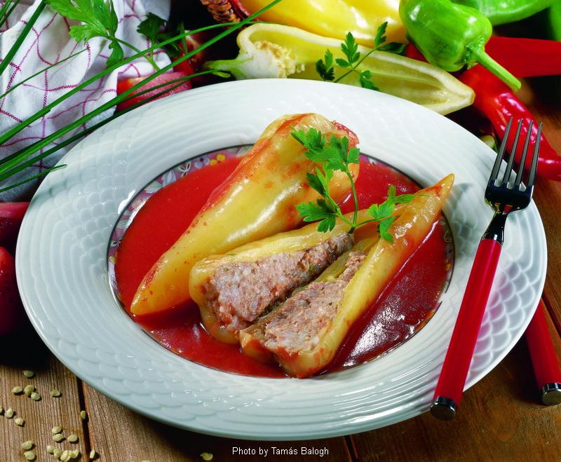 Peperoni ripieni - (töltött paprika)