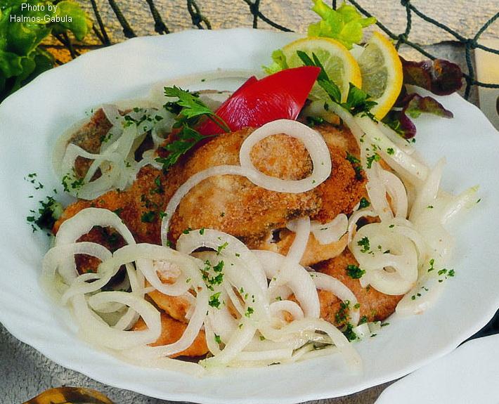 Carpa marinata - (marinált ponty)