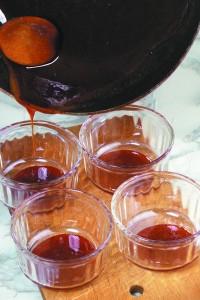 2.Mézpuding mézes almaraguval