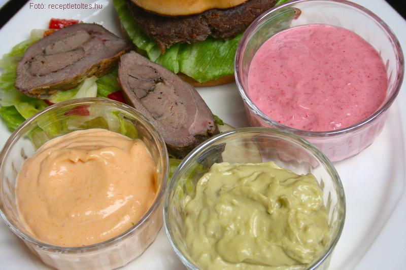 Variációk zöldséges majonézre