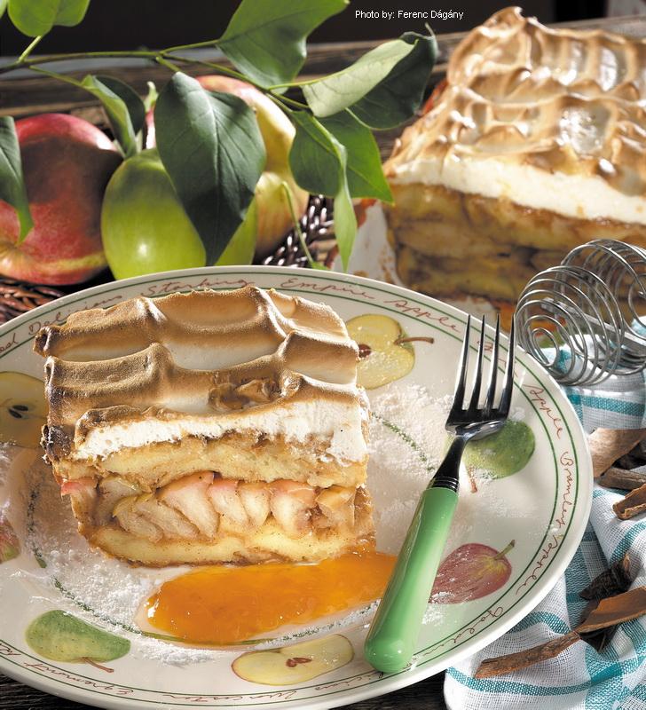 Pastel gratinado de manzana - (Máglyarakás)