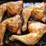 Szaftos, omlós sült csirkecomb