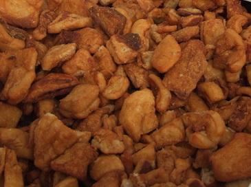 Chicharrones de cerdo (Töpörtyű)