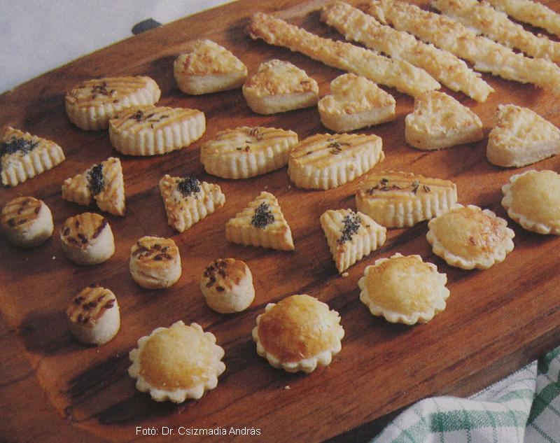 Ropogós sajtos rúd