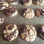 Duplan csokis amerikai kekszek - készítette Kattári Vanessza