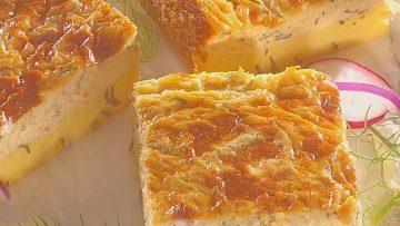 Kapros, juhtúrós, sajtos prósza (erdélyi recept)