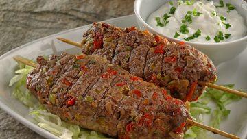 Paprikás húsrudacskák fetás öntettel