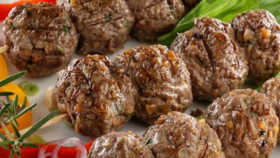 Török kebab (Şiş köfte)