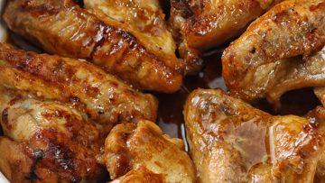 Mézes, mustáros csirkeszárny