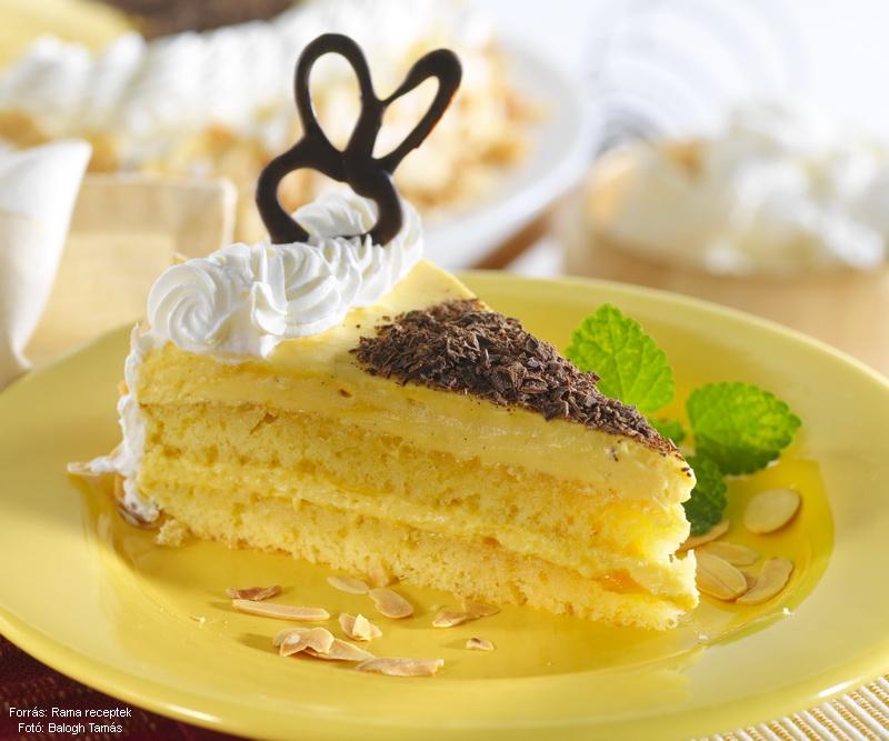 Floating Island Cake - (Madártejtorta)