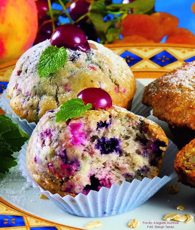 Gyümölcsös muffin II.