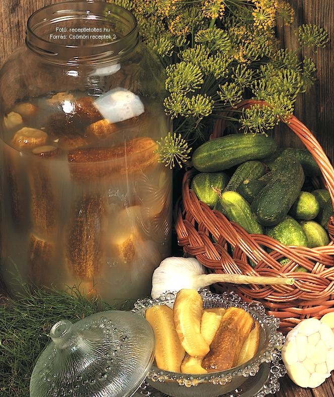 Tartósított kovászos uborka - készítette Sölch Ágoston
